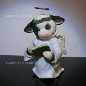 Mary's Moo Moos christmas Angels we have Herd on High Online ex