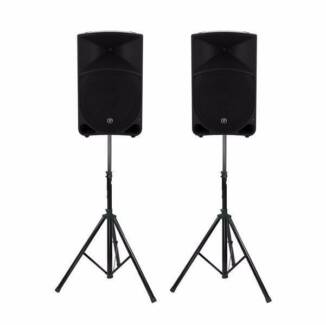 Speaker hire / PA system / Lighting / DJ equipment hire