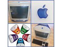 Indigo Apple iMac