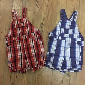 Boys 12-18 months dungarees