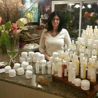 Part-time sales, health and beauty
