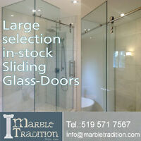 frame less Glass shower enclosures