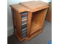 Solid wood pine unit for TV or Music Centre