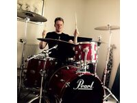 Rock Session Drummer Available