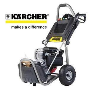 NEW KARCHER GAS PRESSURE WASHER 2800 PSI - 2.5GPM - Expert Series 190cc HONDA ENGINE 107654097