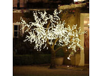 LARGE ARTIFICIAL LED LIT TREE