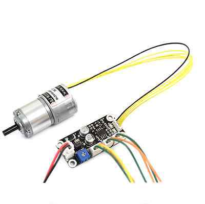 BLDC Gear Motor 1/4 reduction 1325RPM DC 24V 2.5W with controller