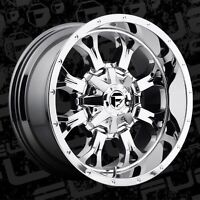 """20"""" fuel krank rims and tires"""