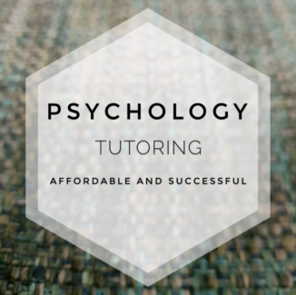Psychology Tuition - Stats and other subjects