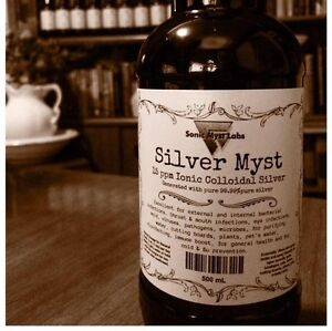 Colloidal Silver without the price-gouge!