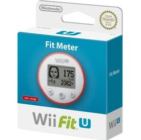 Nintendo Wii U Fit Meter - Red