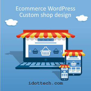 E-Commerce WordPress Shop Design