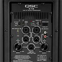 QSC K12 - 2-way full range active speaker, 1000W amp