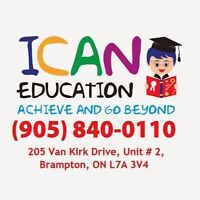 ICAN EDUCATION (Summer / In Class / At home)