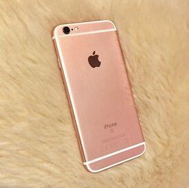 iPhone 6s 64G rose gold unlocked