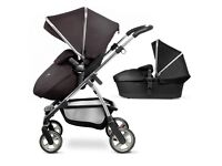 Silver cross wayfarer travel system (2016 model) pushchair ,carrycot and car seat