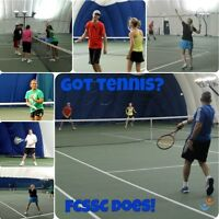 Join a Co-ed, Adult Tennis League this Summer!
