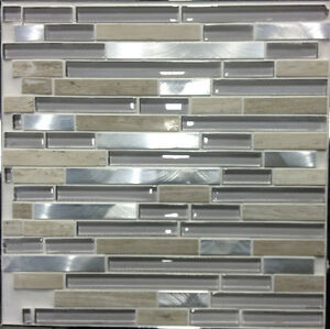 Brown White BRICK HEX SHAPE shell mother of pearl mosaic tiles Kitchener / Waterloo Kitchener Area image 8