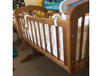 Cradle crib