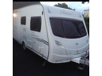 2 berth touring caravan 2008 Lunar clubman 475 ck with motor mover used Northern Ireland