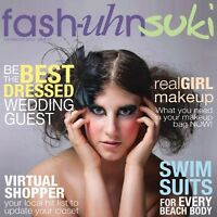 YOUR opportunity to be in a fashion magazine