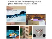 6 seater hot tubs