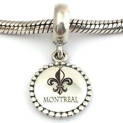 Authentic Pandora Unforgettable Moment Montreal Dangle Charm USB791169-G054 New