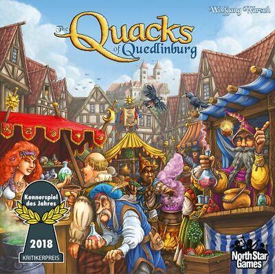 New in original shrink from North Star Games - THE QUACKS OF QUEDLINBURG