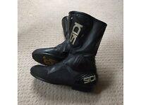 Sidi armoured biker boots