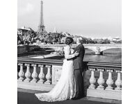 Beautiful classy wedding dress