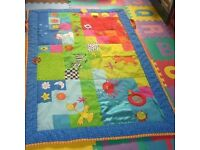 Tafs Toys padded supersize touch play mat and carry case - for sale, £20 (RRP over £40)