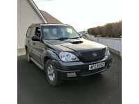 2006 Hyundai Terracan CDX CRTD *MOT'D to March 2018, 2.9L Diesel, Fully serviced*