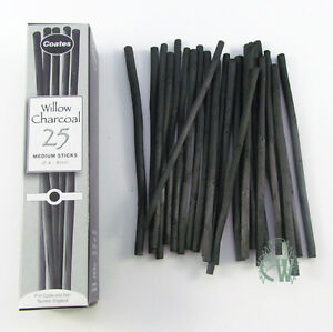 Coates-Willow-Charcoal-25-Medium-Sticks-Artists-Willow-Charcoal-Box