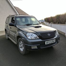 2006 Hyundai Terracan CDX CRTD *MOT'd to March 2018, 2.9L diesel, Fully serviced*