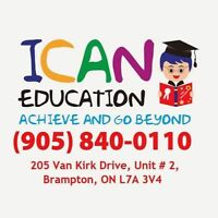 ICAN EDUCATION – Tutoring all subjects & grades