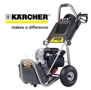 NEW OB KARCHER GAS PRESSURE WASHER 2800 PSI - 2.5GPM - Expert Series 190cc HONDA ENGINE 113197143
