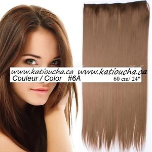 """Clip in hair extension,Straight hair,24"""",60 cm, FUSCHIA OMBRE Yellowknife Northwest Territories image 8"""
