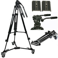 PROFESSIONAL STUDIO ADJUSTABLE TRIPOD TROLLEY - TRÉPIED CHARIOT