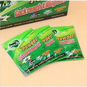 5 Bags Anti Pest High Effectiv Cockroach Killer Home Gardening Medicine Cockroach Powder Very Clear Garden Supplies Baits & Lures
