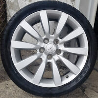 4 mags Mitsubishi 18 '' Bolt Pattern: 5x114.3 mm , Les mags sont