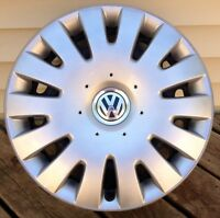 VW wheel covers and steel rims