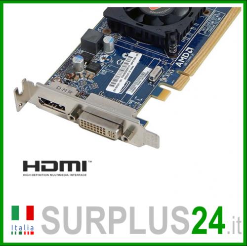 Grafikkarte Pci-E- HDMI/DVI Schnittstelle Pci-E- 1GB Low Profile