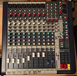 Soundcraft MFXi8 Mixing Board w/ Lexicon Effects