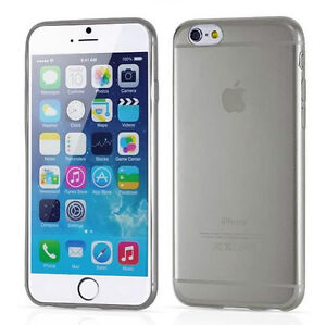 NEW THIN CLEAR SILICONE SOFT COVER CASE FOR IPHONE 6 SNAP ON Regina Regina Area image 5