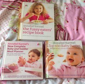 Annabel Karmel Weaning Cookbooks