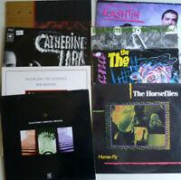 Lot 8 vintage alternative eclectic records disques vinyl LPs 33s