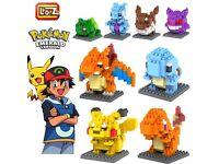 Pokemon mini blocks characters