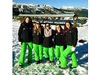 Qualified nannies required for ski season, France Dec 2016- April 2017