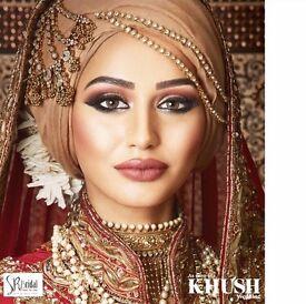 Indian bridal makeup/Asian bridal makeup/bridal makeup/arabic makeup