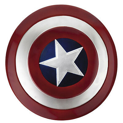 Captain America Movie Shield Adult Marvel Comics Brand New - 24 INCHES!! - 24 Inch Captain America Shield